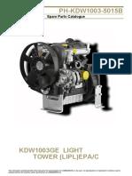 Motor PH KDW1003 5015B Spare Parts Catalog Paclite