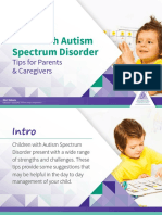 Autism Tips for Parents