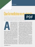 Que la medicina no es ciencia.pdf