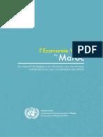 Rapport de l'Economie Verte Au Maroc
