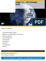 SolMan 7.2 - The Strategic Direction and Beyond