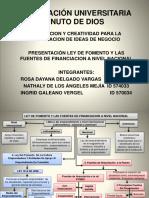 LEY DE FOMENTO