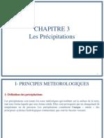 CHAPITRE 3 - Les Precipitations