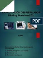 CAPACITACION DESFIBRILADOR