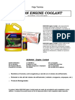 Coolant Tech Sheet_SPANISH