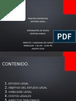 Proyectos Estudio Legal Exposicion