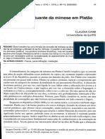 A natureza flutuante da mimese em Platão.pdf