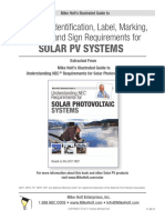 2011 Label Signage for PV Solar Systems