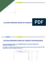 Tanques Contraincendio Nfpa 22, Awwa API 650