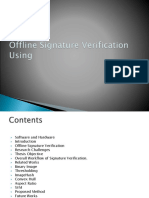 Offline Signeture Recognition.ppsx