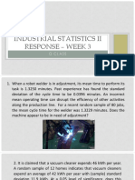 Industrial Statistic