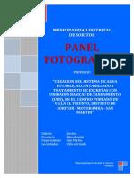 1. Panel Fotografico 2019