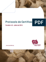 SP - UTZ Certification Protocol 4.0