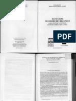 Estudios Derecho Privado
