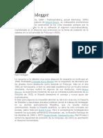 Martin Heidegger Biografia
