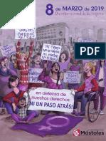 Folleto 8 de Marzo 2019 Día Internacional de Las Mujeres