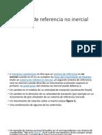 Sistema de Referencia No Inercial