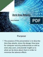 Zero Day Attacks - Jason Kephart
