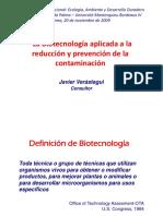 Javier Verastegui-Contaminacion Quimica y Biotecnologia-20.11.2009
