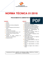 NT-01_2018 – Procedimentos Administrativos