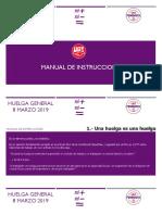 Huelga - 2019 Manual Instrucciones