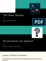 the solar system  1