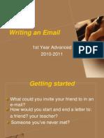 Informal Emails