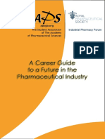 A Guide to a Career in the Pharmaceutical Industry 2016