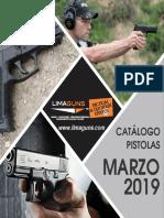 Catalogo Pistolas Marzo