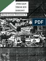 Talavera, Maria Luisa - ¿Como se inician los maestros en su profesión.pdf