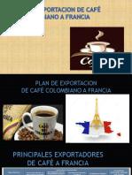 Evidencia 8.4 Plan de Exportación de Café Colombia a Francia