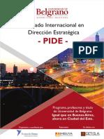 - PIDE- Ciudad Del Este 2018 - Imbuya