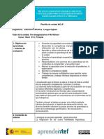 Plantilla Unidad AICLE Bloque 3