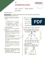 Examen FISICA I 1ra Unidad 4to