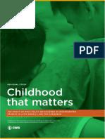 Regional Study Childhood That Matters