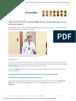 Alan García_ Peritos Realizan Reconstrucción en Casa