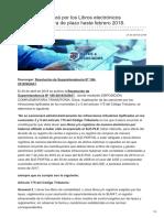 Infotributaria.com-SUNAT No Multará Por Los Libros Electrónicos Presentados Fuera de Plazo Hasta Febreronbsp2018