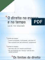 04 - Direito No Tempo e No Espaço (LINDB) (1)