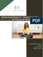 Apunte de aprendizaje 1 historia del  trastornos del espectro autista.pdf