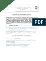 Certificado de Uso de Suelo Ampliado