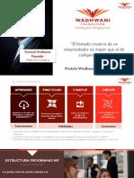 Wadhwani Foundation -  Docentes- April 2019