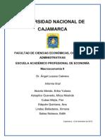 Apuntes sobre Macroeconomía II