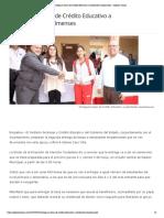 26-04-19 - OPINION SONORA - Entregarán becas de Crédito Educativo a estudiantes empalmenses - Opinión Sonora