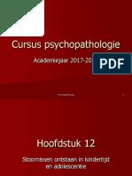Psychiat Probl 17-18 Hfstk 13 Stoornissen Ontstaan in de Kindertijd