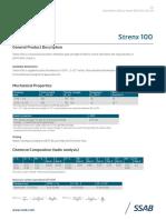 Datasheet Strenx 100 2001us