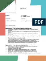 Hoja de vida - curriculum-vitae - Alejandro Bejarano
