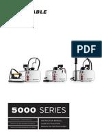5000 Series Instructions Manual Soplador