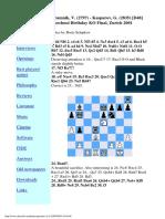 D48 Kramnik-Kasparov 2001