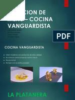 CREACION DE MENU – COCINA VANGUARDISTA.pptx