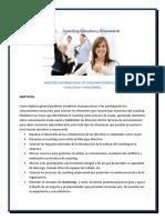 Coaching Empresarial y Ejecutivo y Mentoring Pulse Aqui Para Ver Los Objetivos y Contenido Programatico de La Maestría Internacional